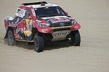 Rallye Dakar 2018: Al-Attiyah schlägt zurück, Mini chancenlos