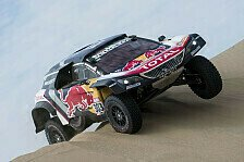Rallye Dakar 2018: Sainz führt Peugeot-Doppelsieg an