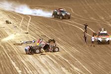 Dakar - Video: Heftiger Unfall bei der Rallye Dakar: Bryce Menzies crasht Mini