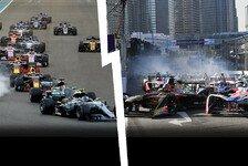 Große Worte: Überholt die Formel E in Zukunft die Formel 1?