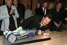 Hollywood-Star Orlando Bloom crasht Formel-E-Auto in Marrakesch