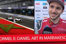 Formel E - Video: Formel E Marrakesch: Daniel Abt im Exklusiv-Interview