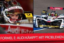 Formel E 2018: Was läuft bei Audi schief?