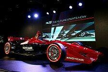 IndyCar stellt neues Dallara-Auto mit 2018er-Aero offiziell vor