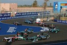 Formel E trifft Formel 1: Vergleiche sind unangebracht