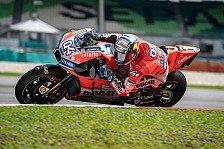 Ducati im Sepang-MotoGP-Test erste Kraft: Letzte Schwächen weg?