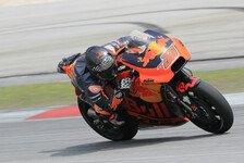 MotoGP - Kallio nicht voll fit, KTM-Einsatzfahrer bei Shakedown