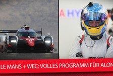 Formel 1 - Video: Formel 1, Le Mans & WEC: Volles Programm für Alonso