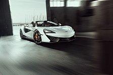 Novitec verpasst dem McLaren 570S Spider einen Carbon-Anzug