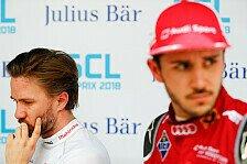 Formel E: Nick Heidfeld entschuldigt sich für Unfall mit Abt