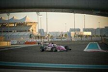 Niklas Krütten schnuppert bei F4-Debüt in Abu Dhabi am Podium