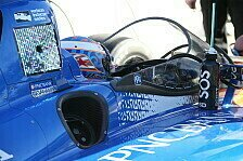 IndyCar - Video: IndyCar-Test mit Windscreen: Onboard aus der Sicht des Fahrers
