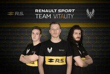 Renault Sport unterstützt Team Vitality im eSport-Bereich
