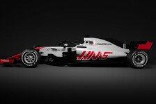 Formel 1 2019, Haas zeigt neue Lackierung am Donnerstag