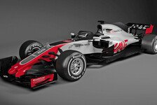 Formel 1: Haas stellt erstes Auto für 2018 mit Halo vor!