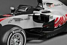 Formel 1 - Video: Formel 1 2018: Haas zeigt erstes F1-Auto mit Halo