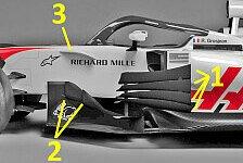 Technik-Check VF-18: Haas kopiert Ferrari, leicht trotz Halo