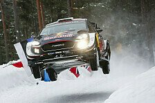 WRC Rallye Schweden: Bilder Tag 1