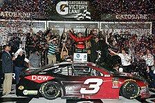 NASCAR Daytona 500: Austin Dillon gewinnt in der Verlängerung