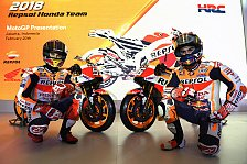 Repsol Honda präsentiert MotoGP-Bike für 2018