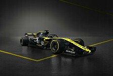 Formel 1 2018, Renault zeigt als erstes Werksteam das neue Auto