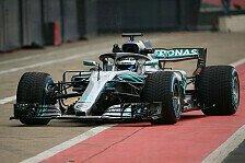 Mercedes zeigt Silberpfeil F1 W09 für Formel-1-Saison 2018