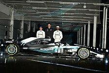 Formel-1-Saison-2018: Mercedes zeigt den F1 W09 - erste Fotos