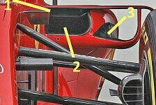 Ferrari SF71H im Technik-Check: Mercedes-Konzept bei Radstand