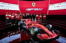 Formel 1 - Video: Formel 1 2018: Ferrari präsentiert den SF 71-H