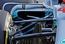 Bilderserie: Mercedes F1 W09 im Technik-Check 2018