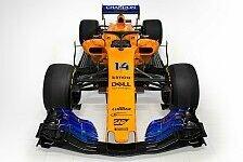Formel 1 - Video: Formel 1: McLaren MCL33 im historischen Design erwacht
