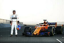 Formel 1 2018: Alonso nach erstem McLaren-Run: Saison wird gut!