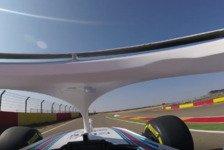 Formel 1 - Video: Formel-1-Onboard mit Halo: So sieht es für den Fahrer aus