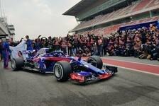 Formel 1 2018, Toro Rosso: Echter STR13-Launch nach Leak