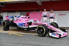 Formel 1 2018: Force India launcht neuen VJM11 - alle Fotos