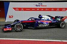 Formel 1 2018: Toro Rosso enthüllt neuen STR13 - erste Fotos