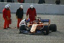 McLaren: Auch ohne Honda Pannen-König beim Formel-1-Test