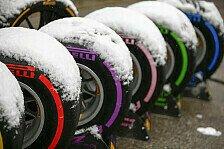 Formel 1 2018: Test-Termine für Pirellis Reifen-Testfahrten