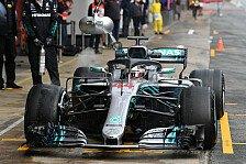Formel-1-Testfahrten 2018 Live: Ticker Tag 4 aus Barcelona I