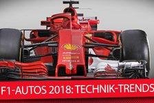 Formel 1 - Video: Formel-1-Boliden 2018: Ferrari, Mercedes & Co im Technik-Check