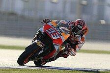 MotoGP Katar 2018: Marc Marquez führt das Warm Up an