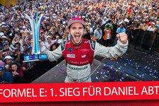 Formel E 2018: Audi-Fahrer Daniel Abt - plötzlich Titelanwärter