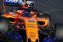 Formel-1-Test 2018: McLaren provoziert Motorschaden bei Alonso