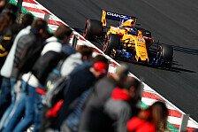 F1-Topspeed: McLaren auch ohne Honda wieder am langsamsten