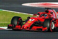 F1-Test, Räikkönen nach Hamilton-Ansage: Ferrari kann schneller