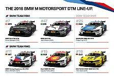 DTM 2018: So sehen die BMW M4 von Glock, Wittmann und Co. aus