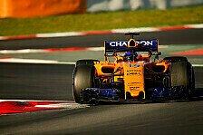 McLaren: Neuer Turbo-Schaden bei Formel 1-Test unsere Schuld