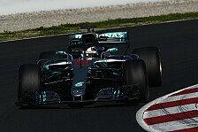 Formel-1-Testfahrten 2018 Live: Ticker Tag 4 aus Barcelona II