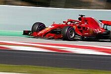 Formel 1 Spanien, Erstmals dünnere Reifen: Ein Team geht Risiko
