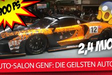 Auto - Video: Genfer Auto-Salon 2018: Die 5 krassesten Sportwagen